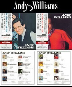 Andy Williams - Original Album Collection Vol. 1 & Vol. 2 [2 X 8 Mini LP CD Box Sets] (2013)