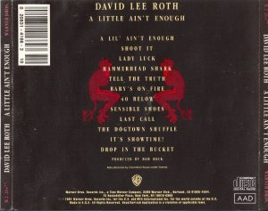 David Lee Roth - A Little Ain't Enough (1991)