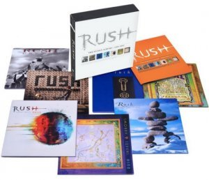 Rush - The Studio Albums 1989-2007 (7CD Box Set) (2014)