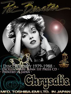Pat Benatar - Discography [Japan Edition] (1979-1988)
