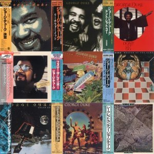 George Duke - Collection: 9CD (1977-1984) [Japanese Remasters 2014]