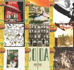 Led Zeppelin - 10 Limited Celebration Day Version CD Set [CD AP50, Japan] (2012)