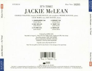 Jackie McLean - It's Time (1964)