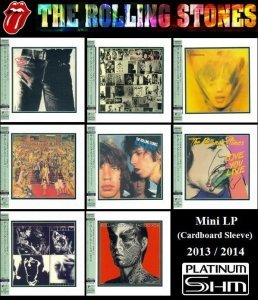 The Rolling Stones - 8 Albums Mini LP Platinum SHM-CD (2013-2014)