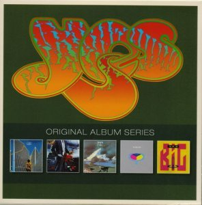 Yes - Original Album Series 5 CD (1977-1987)
