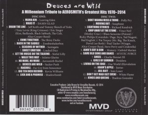 VA - Deuces Are Wild - A Millennium Tribute To Aerosmith's Greatest Hits 1970 - 2014 (2014)