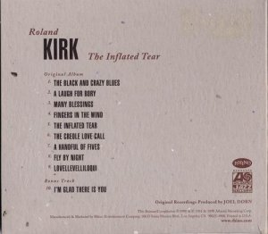 Roland Kirk - The Inflated Tear (1967)