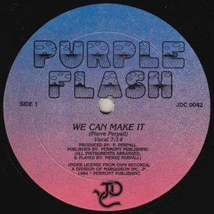 Purple Flash - We Can Make It (1984)