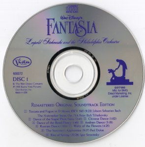 Walt Disney's FANTASIA/ Remastered Original Soundtrack Edition