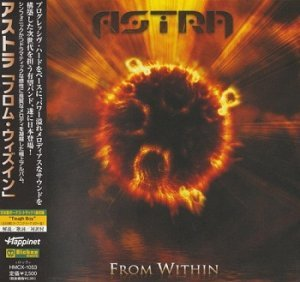 Astra - From Within (Japan Edition) (2009)