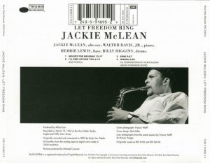 Jackie McLean - Let Freedom Ring (1962)