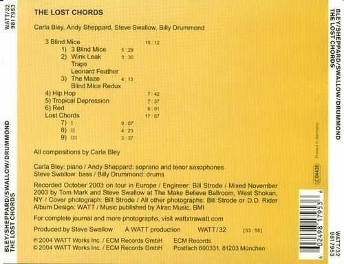 Carla Bley The Lost Chords 2004 Lossless Music Download Flac