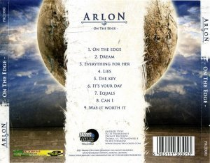 Arlon - On The Edge (2013)