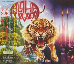 Alpha Tiger - Man or Machine (Japanese Edition) (2011)