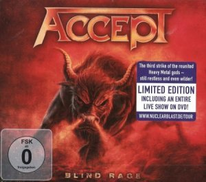 Accept - Blind Rage [Limited Edition] (2014) + [DVD9]