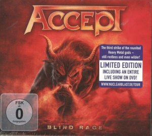 Accept - Blind Rage (2014) [Limited Edition]