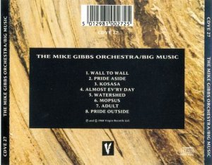 The Mike Gibbs Orchestra - Big Music (1988)