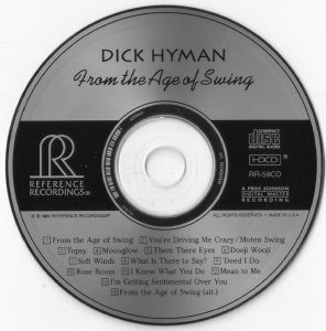 Dick Hyman – From The Age Of Swing