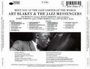 Art Blakey & The Jazz Messengers - Meet You At The Jazz Corner Of The World (1960)