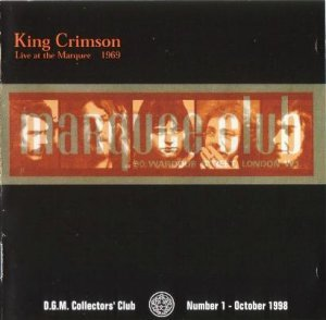 King Crimson - Live At The Marquee 1969 (Bootleg/Reissue 1998)