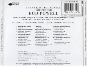 Bud Powell - The Amazing Bud Powell, Volume One - (1949-1951)
