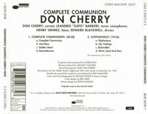 Don Cherry - Complete Communion (1966)