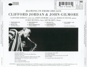 Clifford Jordan & John Gilmore - Blowing In From Chicago (1957)