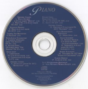 The Masterpiece Collection Piano (1994)