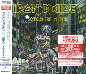 Iron Maiden - Somewhere In Time (Japanese Edition 2014) (1986)