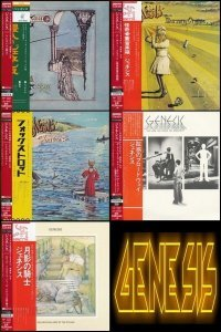 Genesis - Albums Collection [Mini LP Platinum SHM-CD Japan 2014]