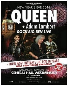 Queen & Adam Lambert - Rock Big Ben (2015)