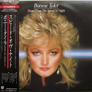 Bonnie Tyler - Faster Than The Speed Of Night [Japan LP] (1983)