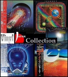 Journey - Collection: 5 Albums [Japanese Vinil] (1980-1986)