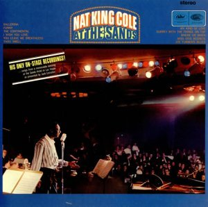 Nat King Cole - At The Sands (1966) [Vinyl]
