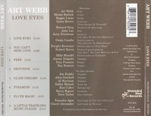 Art Webb - Love Eyes (1977) [2009]