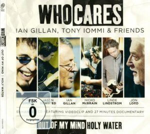 WhoCares - Out Of My Mind / Holy Water (2011) [CD Single]