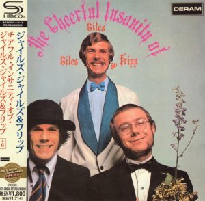 Giles, Giles & Fripp - The Cheerful Insanity [1968] (Japan SHM Remaster)[2010]