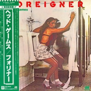 Foreigner - Head Games [Japan LP] (1979)