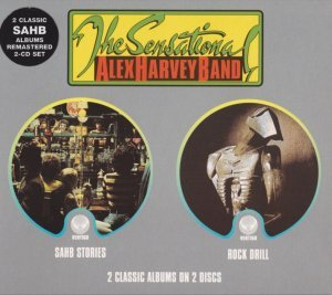 The Sensational Alex Harvey Band - Stories/Rock Drill [1976/78][Remastered](2002)