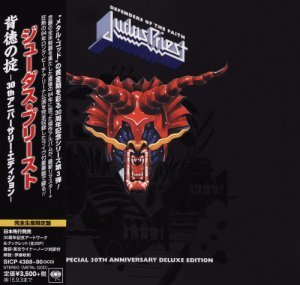 Judas Priest - Defenders Of The Faith (2015) [30th Anniversary Deluxe Edition 3CD, Japan]