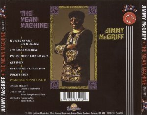 Jimmy McGriff - The Mean Machine (1976)