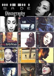 Sade - Discography [Japanese Editions] (1984-2011)