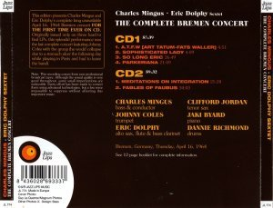 Charles Mingus & Eric Dolphy Sextet - The Complete Bremen Concert (2010)