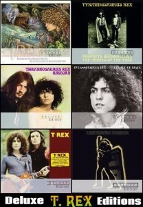 T. Rex - Collection: 6 Albums Deluxe Editions (2012-2015)