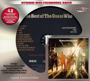 The Guess Who - The Best Of The Guess Who (1971) [2014 Audio Fidelity SACD]