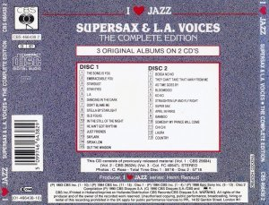 Supersax & L.A. Voices - The Complete Edition (1990)