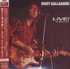 Rory Gallagher - Live! In Europe (1972)