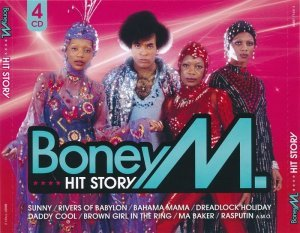 Boney M. - Hit Story [4CD Set] (2010)