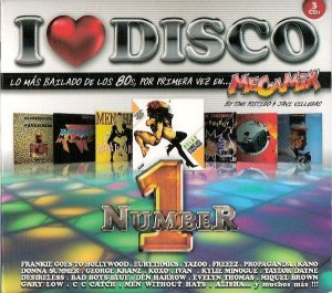 VA - I Love Disco 80s Number 1 [3CD] (2015)