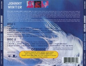 Johnny Winter - Second Winter [2CD Expanded Edition] (2004)